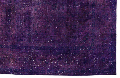 Purple Over Dyed Vintage XLarge Rug 9'6'' x 12'6'' ft 290 x 380 cm