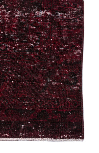 Red Over Dyed Vintage XLarge Rug 8'11'' x 12'12'' ft 271 x 396 cm