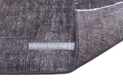 Gray Over Dyed Vintage XLarge Rug 9'7'' x 13'1'' ft 291 x 400 cm