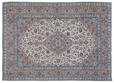 Naturel Over Dyed Vintage XLarge Rug 9'8'' x 13'2'' ft 295 x 402 cm