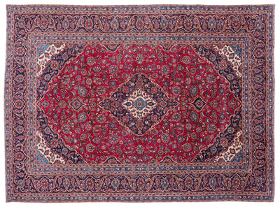 Naturel Over Dyed Vintage XLarge Rug 9'4'' x 12'9'' ft 284 x 388 cm