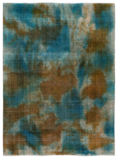 Retro Over Dyed Vintage XLarge Rug 9'2'' x 12'4'' ft 279 x 376 cm