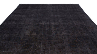 Gray Over Dyed Vintage XLarge Rug 9'7'' x 13'1'' ft 293 x 400 cm
