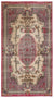 Naturel Over Dyed Vintage Rug 3'10'' x 7'1'' ft 117 x 217 cm
