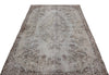 Gray Over Dyed Vintage Rug 4'12'' x 9'1'' ft 152 x 278 cm