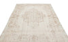 Beige Over Dyed Vintage Rug 6'2'' x 9'4'' ft 187 x 285 cm