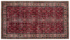 Naturel Over Dyed Vintage Rug 4'11'' x 8'11'' ft 150 x 272 cm