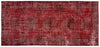 Naturel Over Dyed Vintage Rug 5'4'' x 11'8'' ft 163 x 355 cm