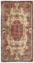 Naturel Over Dyed Vintage Rug 5'0'' x 9'4'' ft 153 x 285 cm