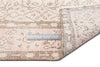 Beige Over Dyed Vintage Rug 5'3'' x 8'8'' ft 160 x 265 cm