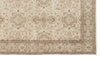 Beige Over Dyed Vintage Rug 4'12'' x 8'11'' ft 152 x 272 cm