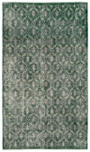 Retro Over Dyed Vintage Rug 5'1'' x 8'10'' ft 154 x 268 cm