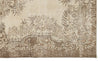 Beige Over Dyed Vintage Rug 5'11'' x 9'10'' ft 180 x 299 cm