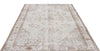 Beige Over Dyed Vintage Rug 5'11'' x 9'7'' ft 181 x 292 cm