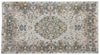 Naturel Over Dyed Vintage Rug 5'2'' x 9'7'' ft 158 x 292 cm
