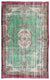 Retro Over Dyed Vintage Rug 5'9'' x 9'4'' ft 176 x 285 cm