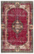 Retro Over Dyed Vintage Rug 5'11'' x 9'7'' ft 181 x 293 cm