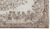 Beige Over Dyed Vintage Rug 5'7'' x 9'7'' ft 170 x 291 cm