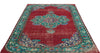 Retro Over Dyed Vintage Rug 5'10'' x 8'11'' ft 178 x 273 cm