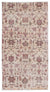 Retro Over Dyed Vintage Rug 3'9'' x 7'1'' ft 114 x 215 cm