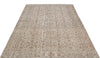 Beige Over Dyed Vintage Rug 5'1'' x 8'6'' ft 155 x 258 cm