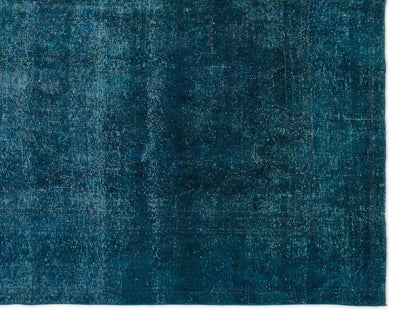 Turquoise  Over Dyed Persian Rug 9'7'' x 11'12'' ft 291 x 365 cm