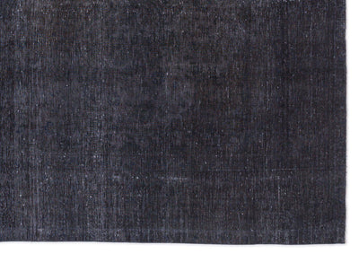 Gray Over Dyed Vintage XLarge Rug 9'0'' x 13'2'' ft 275 x 401 cm