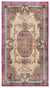 Naturel Over Dyed Vintage Rug 3'9'' x 6'8'' ft 115 x 204 cm