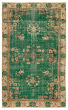 Naturel Over Dyed Vintage Rug 5'6'' x 8'12'' ft 168 x 274 cm