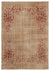Naturel Over Dyed Vintage Rug 6'4'' x 9'3'' ft 193 x 282 cm