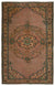 Naturel Over Dyed Vintage Rug 5'12'' x 9'3'' ft 182 x 283 cm