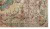 Naturel Over Dyed Vintage Rug 4'11'' x 8'7'' ft 151 x 261 cm