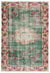 Naturel Over Dyed Vintage Rug 5'7'' x 8'3'' ft 170 x 251 cm