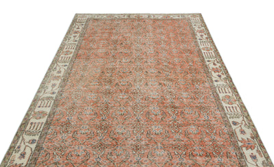 Naturel Over Dyed Vintage Rug 5'7'' x 9'5'' ft 169 x 288 cm