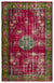 Retro Over Dyed Vintage Rug 5'12'' x 8'11'' ft 182 x 272 cm