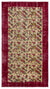 Naturel Over Dyed Vintage Rug 3'9'' x 6'11'' ft 115 x 212 cm