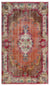 Retro Over Dyed Vintage Rug 5'5'' x 9'3'' ft 164 x 282 cm