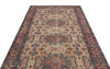 Naturel Over Dyed Vintage Rug 5'5'' x 9'4'' ft 164 x 285 cm