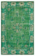 Retro Over Dyed Vintage Rug 5'6'' x 8'9'' ft 167 x 266 cm
