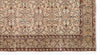 Beige Over Dyed Vintage Rug 4'10'' x 8'8'' ft 148 x 263 cm