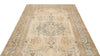 Beige Over Dyed Vintage Rug 5'8'' x 8'10'' ft 173 x 270 cm