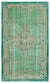Retro Over Dyed Vintage Rug 6'0'' x 9'9'' ft 183 x 296 cm