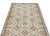 Beige Over Dyed Vintage Rug 4'0'' x 7'5'' ft 123 x 225 cm