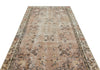 Naturel Over Dyed Vintage Rug 4'10'' x 8'10'' ft 148 x 270 cm