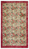 Retro Over Dyed Vintage Rug 5'8'' x 9'3'' ft 172 x 283 cm