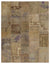 Anatolia Over Dyed Patchwork Unique Rug 7'7'' x 9'9'' ft 230 x 296 cm