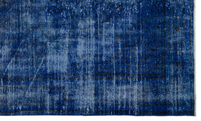 Gray Over Dyed Vintage Rug 5'0'' x 8'5'' ft 153 x 256 cm