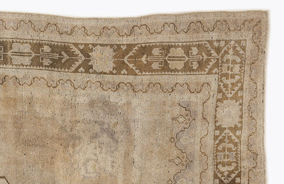 Beige Over Dyed Heritage Rug 5'3'' x 8'10'' ft 160 x 270 cm