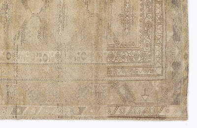 Beige Over Dyed Heritage Rug 7'2'' x 8'10'' ft 218 x 270 cm