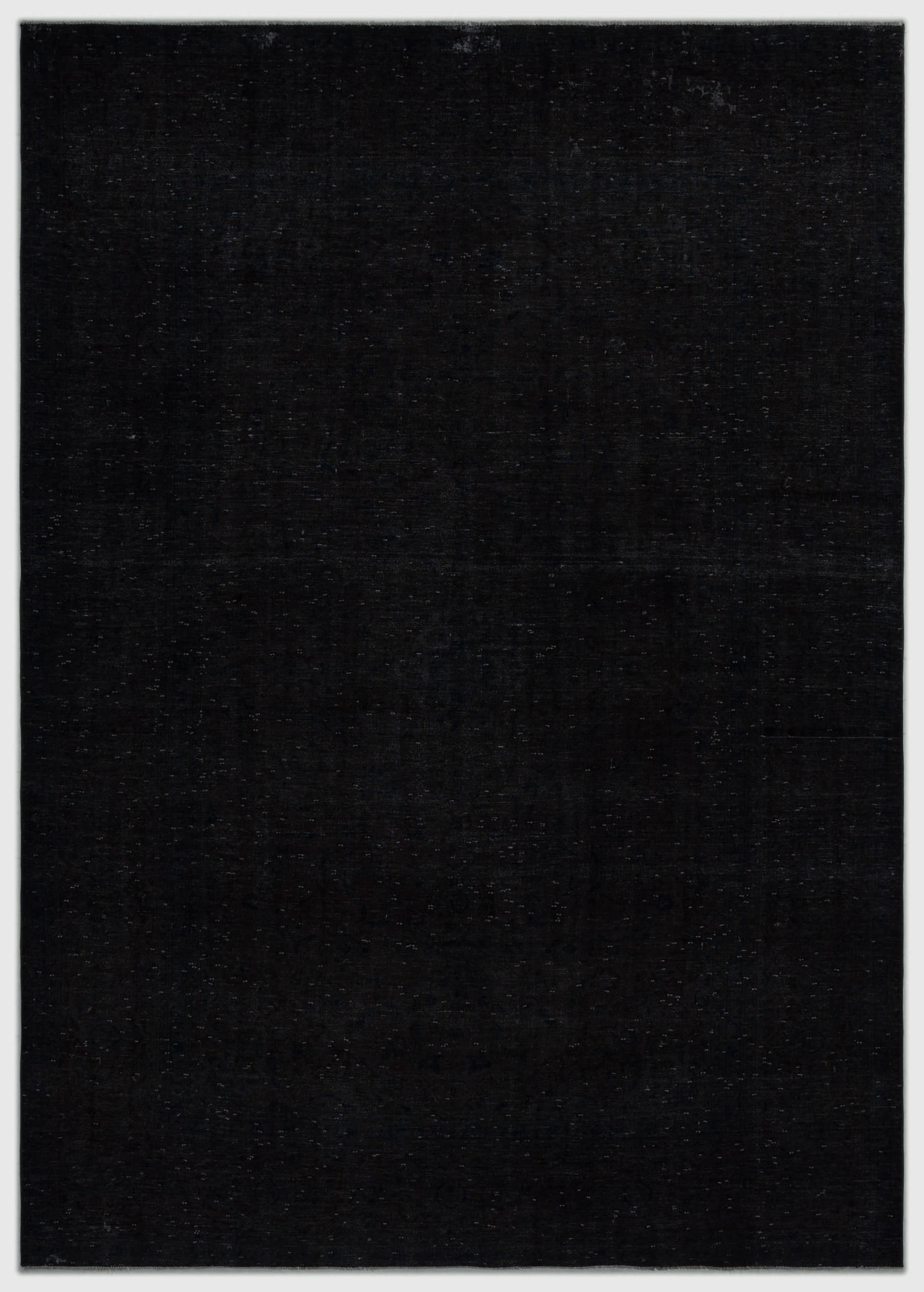 Gray Over Dyed Vintage XLarge Rug 7'5'' x 10'6'' ft 227 x 320 cm